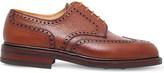 Crockett Jones CROCKETT & JONES Pembroke grain-leather derby shoes