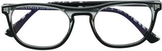 Face à Face Transparent Square Shaped Glasses