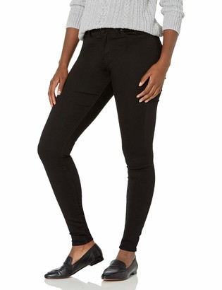 Signature by Levi Strauss & Co. Gold Label Signature by Levi Strauss & Co Women's Modern Skinny Jeans Noir 24 Large
