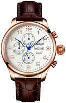 Ingersoll Men's IN3900RG Automatic Apache Rose Gold-Tone Stainless Steel Watch