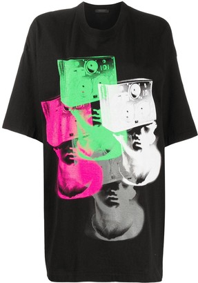 Undercover graphic print oversized T-shirt