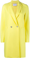 Harris Wharf London - Boxy Fit Double Breasted Coat - women - Wool - 42