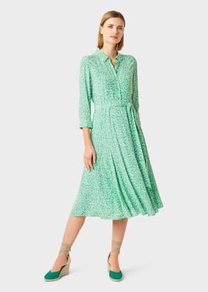 Hobbs Frederica Floral Midi Dress