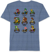 Nintendo Mario Kart-Print T-Shirt, Big Boys (8-20)