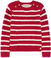 Scotch & Soda Striped curly wool sweater