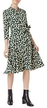 Hobbs London Alex Dot Print Fit & Flare Dress
