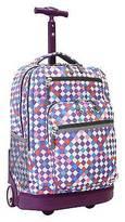 "J World 20"" Sundance Rolling Backpack with Laptop Sleeve"