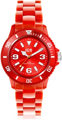 Ice Watch Ice-Watch - ICE solid Red - Men's (Unisex) wristwatch with plaastic strap - 000628 (Medium)
