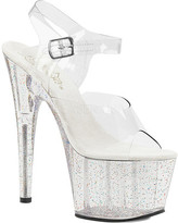Pleaser USA Women's Adore 708MG Ankle-Strap Platform Sandal