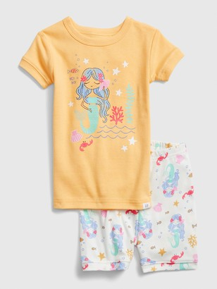 Gap babyGap Mermaid Short PJ Set