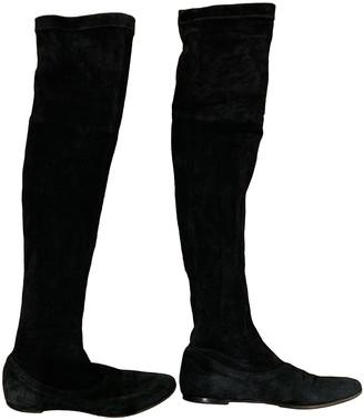 Maliparmi Black Suede Boots