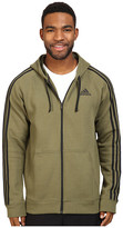 adidas Essentials Cotton Fleece 3-Stripes Full Zip Hoodie