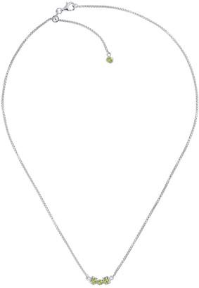 Tsai X Tsai San Shi Peridot Necklace, Sterling Silver
