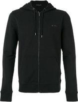 Michael Kors zip up hoodie - men - Cotton/Spandex/Elastane - L