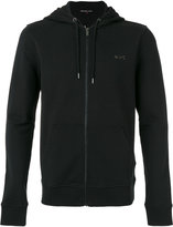 Michael Kors zip up hoodie - men - Cotton/Spandex/Elastane - S