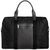 Jack Spade Men's Quilted WaxWear Travel Duffel Bag