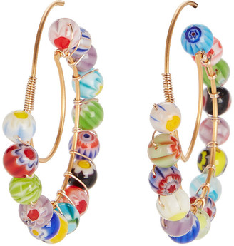 Millefiori Beck Jewels Lune Hoops
