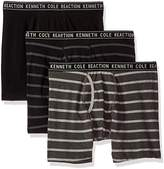 Kenneth Cole Reaction Men's Performance Cotton Stretch 3 Pack Boxer Brief