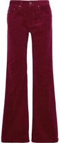 Marc Jacobs Corduroy Wide-leg Pants - Burgundy