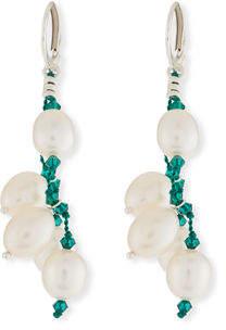 32ca7485b71350 Margo Morrison Five-Pearl Drop Earrings