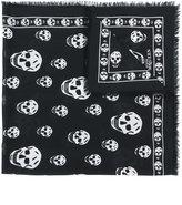 Alexander McQueen cashmere Skull scarf - women - Cashmere - One Size