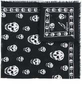 Alexander McQueen cashmere Skull scarf