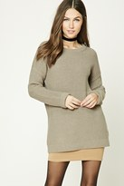 Forever 21 FOREVER 21+ Purl Knit Sweater