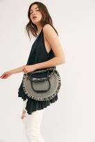 Free People Cyprus Circle Tote by Free People, Black, One Size