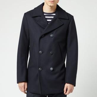 Armor Lux Men's Caban Wool Coat