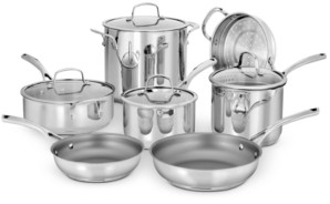 Cuisinart Forever Stainless 11-Pc. Cookware Set