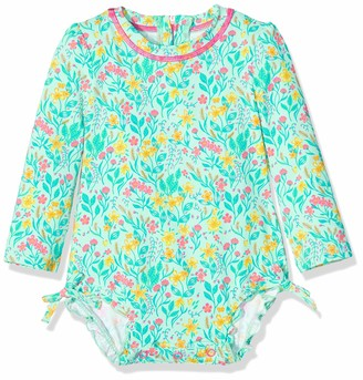 Hatley Baby Girls' Rash Guard Swimsuits
