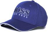 Boss Green Textured Blue Baseball Cap