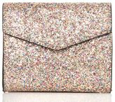 Quiz Glitter Square Box Bag