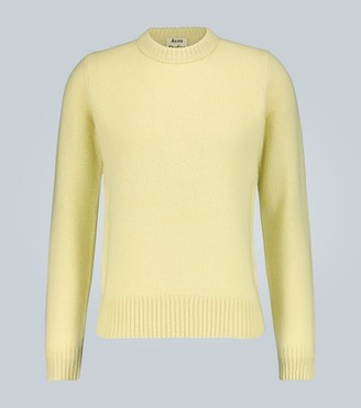 Acne Studios Shetland wool crewneck sweater