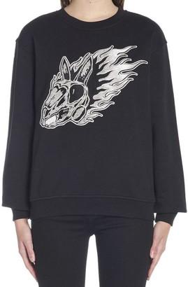 McQ Flame Bunny Sweatshirt