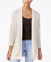 American Rag Cotton Open-Front Cardigan, Only at Macy's