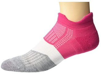 Feetures Elite Max Cushion No Show Tab (Fierce Magenta) Women's No Show Socks Shoes