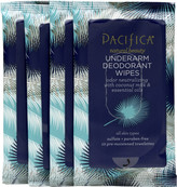 Pacifica Underarm Deodorant Wipes Travel Set