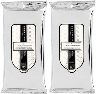 Beekman 1802 Goat Milk Facial Cleansing Wipes Duo