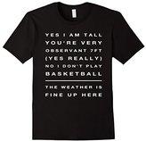 Women's Big Tall Man Funny T Shirt Gifts Idea 7 Foot Small