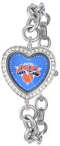 Game Time NBA Women's BH-NY Heart Collection New York Knicks Watch