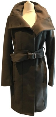 Patrizia Pepe Khaki Wool Coat for Women