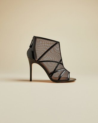 Ted Baker TAMINAA Caged mesh detail sandals