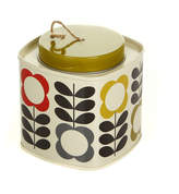 Orla Kiely Flower Stem String in a Tin