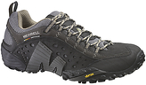 Merrell Intercept Leather Walking Shoes, Black