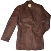 Hermes Brown Linen Jacket