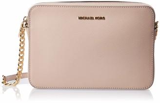 Michael Kors Womens Jetset Lg Ew Crossbody Cross-Body Bag Pink (Soft Pink) 2x10x23 cm (W x H x L)