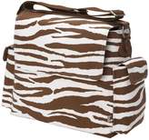 OiOi Zebra Messenger Diaper Bag (japan import)