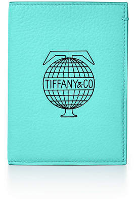 Tiffany & Co. & Co. Travel passport cover in Blue leather