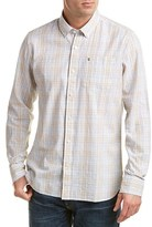 Victorinox Tailored Fit Linen-blend Woven Shirt.